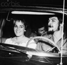 Che and Aleida March on their honeymoon