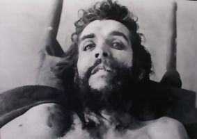 Che Guevara's body on display at Vallegrande, Bolivia hospital