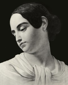 Virginia Clemm Poe, the only likeness of Poe's wife that exists.