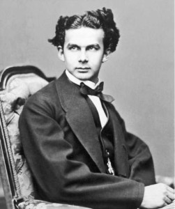 Ludwig II as a young man