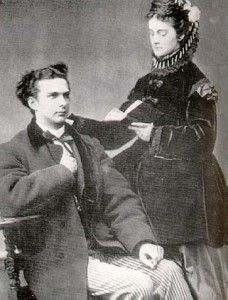 Ludwig and his fiancee, Sophie of Bavaria