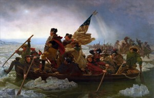 Crossing the Delaware, December 25, 1776