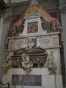 Michelangelo's Tomb, Santa Croce, Florence