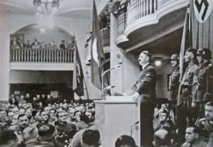 "Hilter Addressing the ""Alte Kampfers"", Burgerbraukellar"